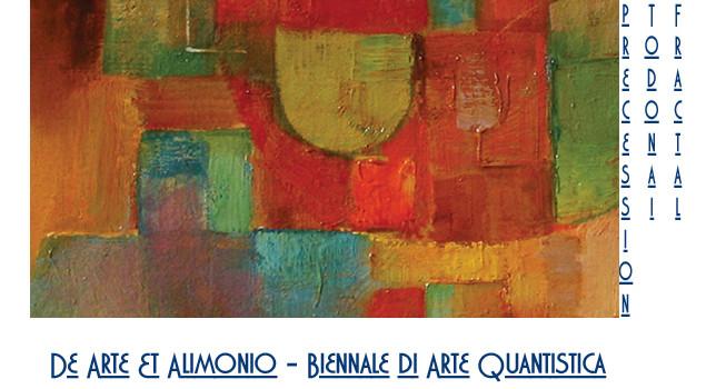 De Arte Et Alimonio – A ROMA la Prima Biennale Di Arte Quantistica.