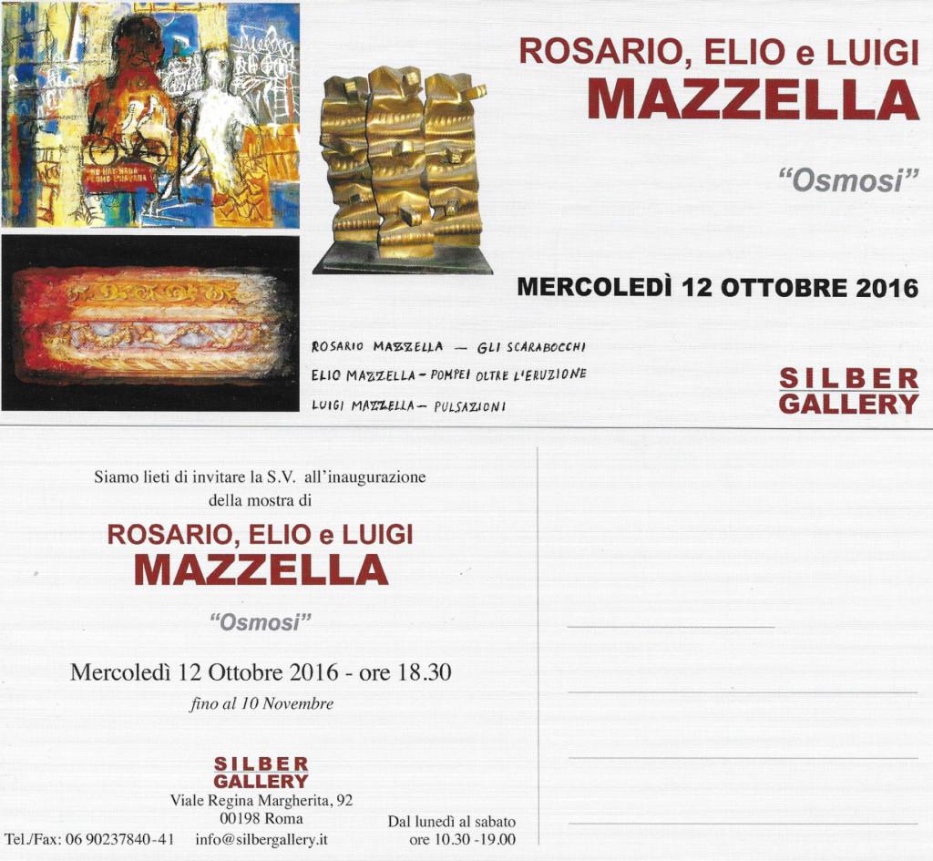 Rosario Mazzella - Osmosi