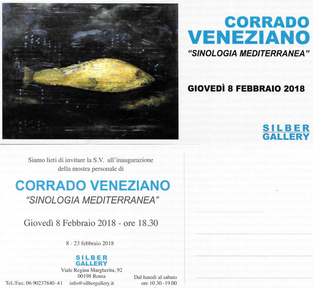 Corrado Veneziano alla Silber Gallery di Roma